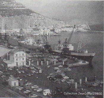 Le d part des espagnols oran le 30 juin 1962 - Port de marseille pour aller en algerie ...