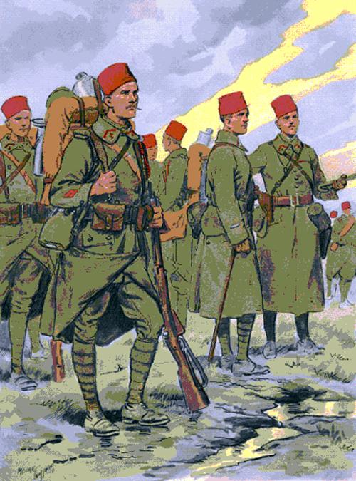 uniforme armée belge